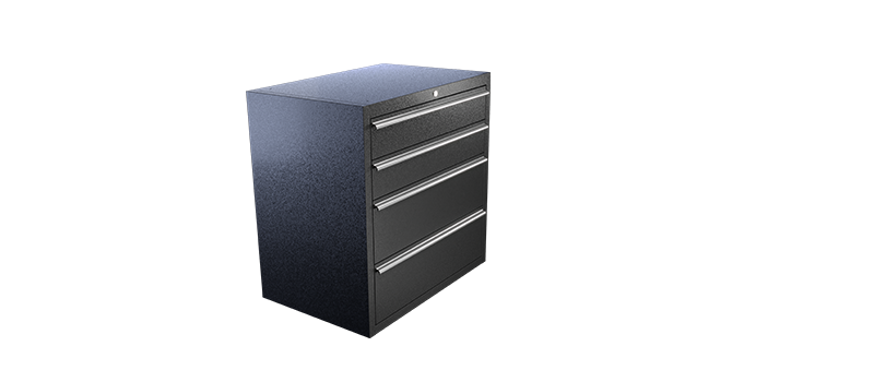RACK IT PRO 4 DRAWER CABINET