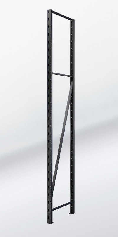 RACK IT 400KG UPRIGHT 2136x530mm