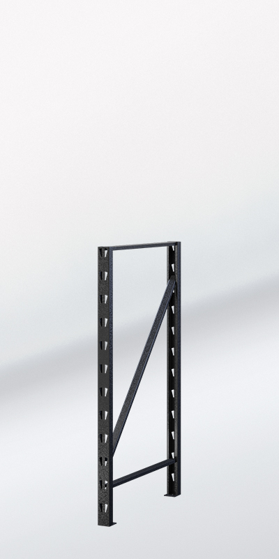 RACK IT 400KG UPRIGHT 916x530mm