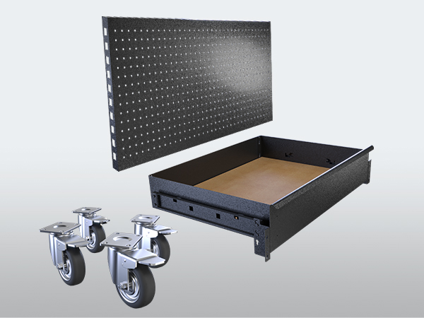Rack It 1000KG Easy to use accessories range