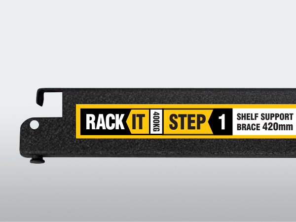 Rack It 400KG Modular Shelving System