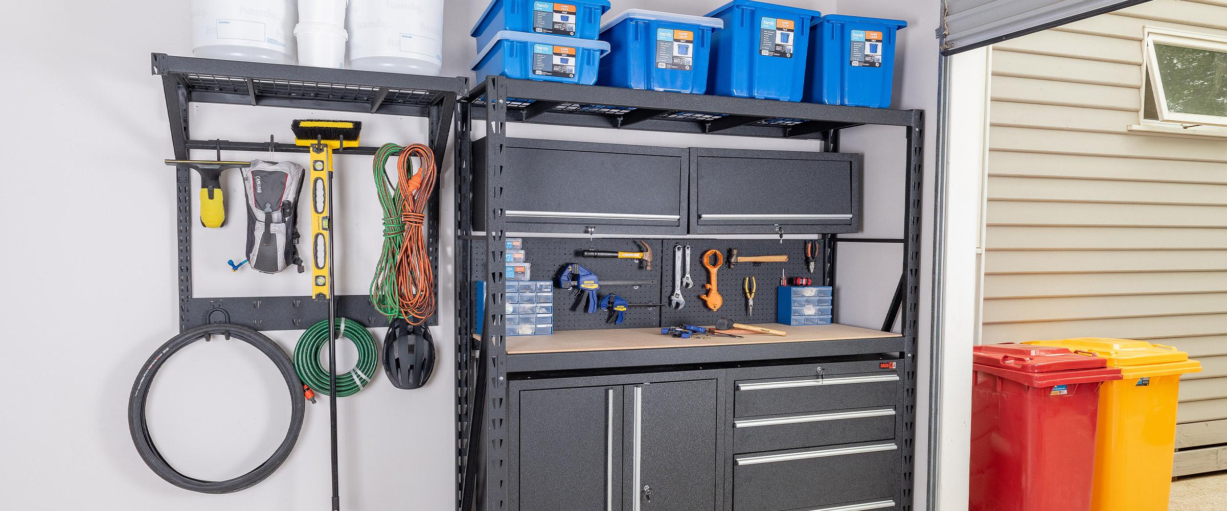 Garage Tool Storage System by Rack It
