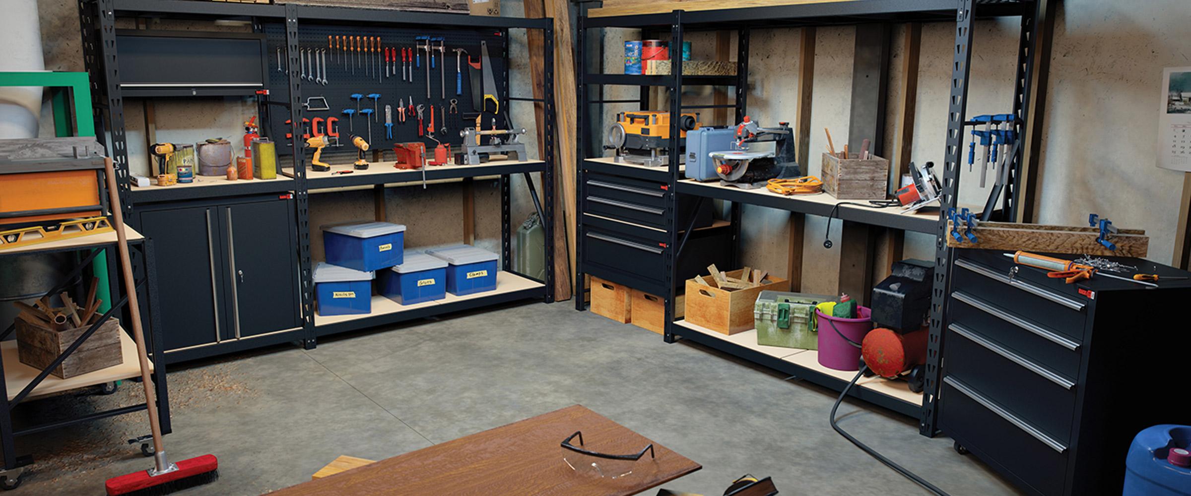 Ultimate Wood Workshop Storage setup by Rack It