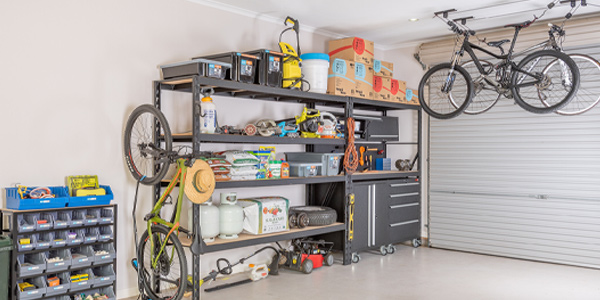 Garage Storage solution for the whole family