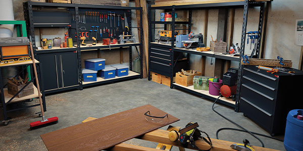 Ultimate Wood Workshop Storage setup by Rack It